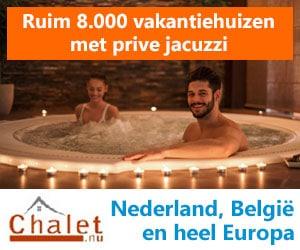 chalet.nu vakantiehuizen met jacuzzi banner