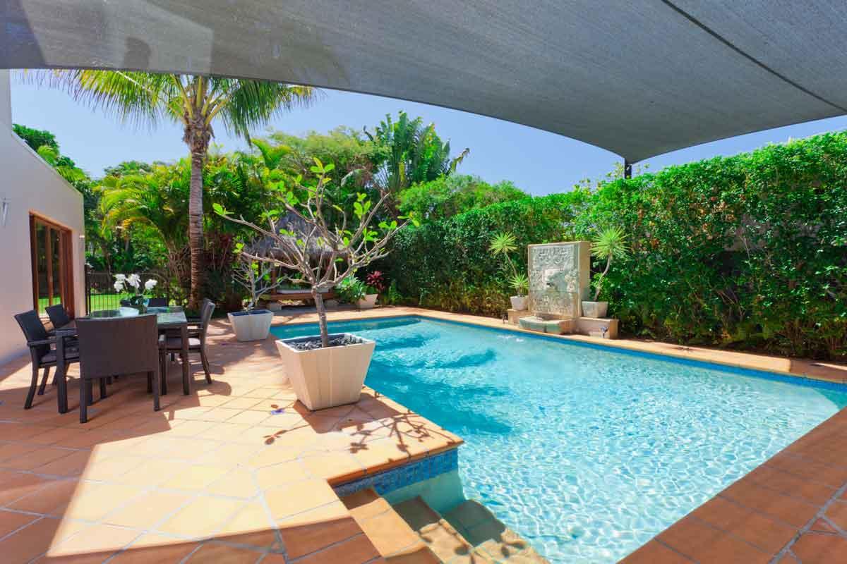 wellnessvilla met prive zwembad