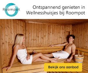 roompot wellness huizen banner